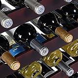 PROSPERLY U.S.Product New 24 Bottle Wood Wine Rack Holder Storage...