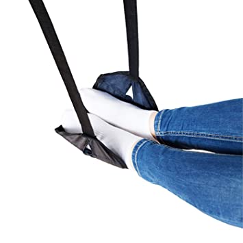 Punctual Portable Travel Airplane Footrest Flight Carry-on Foot Rest Adjustable Feet Hammock Travel Accessories Luggage & Travel Bags Luggage & Bags
