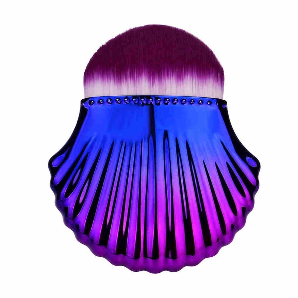 ESAILQ Haarshampoo Scalp Bürstenkörper-Massage-Bürsten-Kamm-Conditioner reinigen Kopfpflege (A)