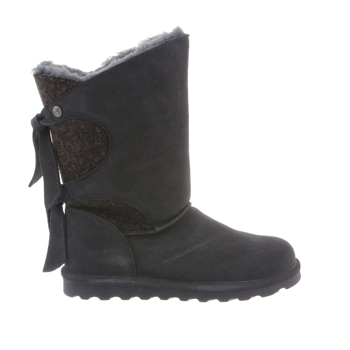 BEARPAW Womens Willow Winter Boot Charcoal Size 7