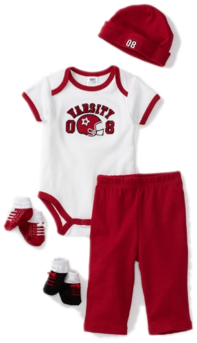 Baby Essentials Baby-boys Newborn Varsity Layette Set
