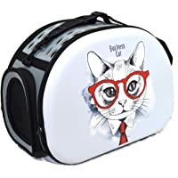 Cataria Collapsable Pet Carrier Airline Approved Cat Carrier Outdoor pet Bag Dog Carrier - Business cat