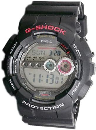 9cc175d59a Amazon   [ジー・ショック]G-SHOCK カシオCASIO 腕時計 高輝度LED GD100 ...