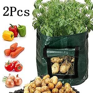Garden PE Compost Bag Kitchen Yard Compost Bag Residuos orgánicos ...