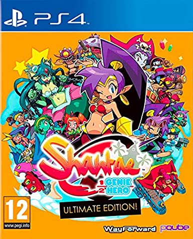 Shantae: 1/2 Genie Hero - Ultimate Edition: Amazon.es ...