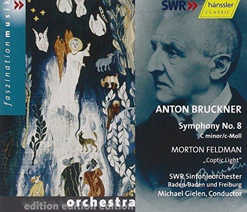 Symphony 8 in C Minor / Coptic Light by Bruckner^Feldman^Gielen^Swr So Baden-Baden