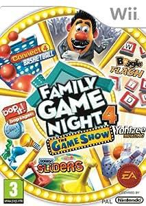 Hasbro Family Game Night 4: The Game Show Edition (Wii) [Importación inglesa]