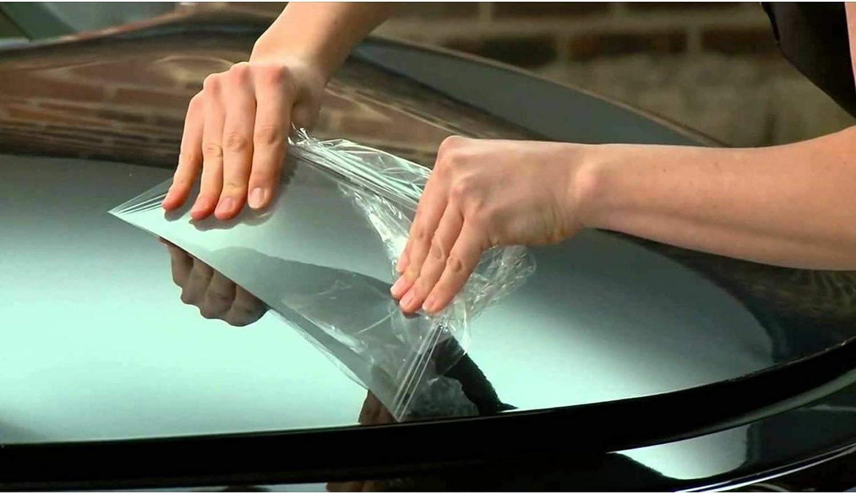 Car Bumper Front Hood Headlight Paint Scratch Guard Film Vinyl Wrap Sheet Xotic Tech Clear Paint Protection Vinyl Film 12 x 48