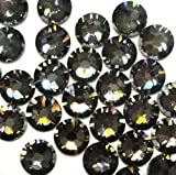 720 Swarovski 2028 / 2038 16ss HOTFIX crystal flatbacks ss16 CRYSTAL SILVER NIGHT A HF