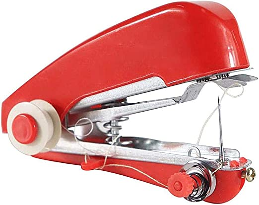 Yuaer Pequeña máquina de coser manual, mini máquina de coser ...