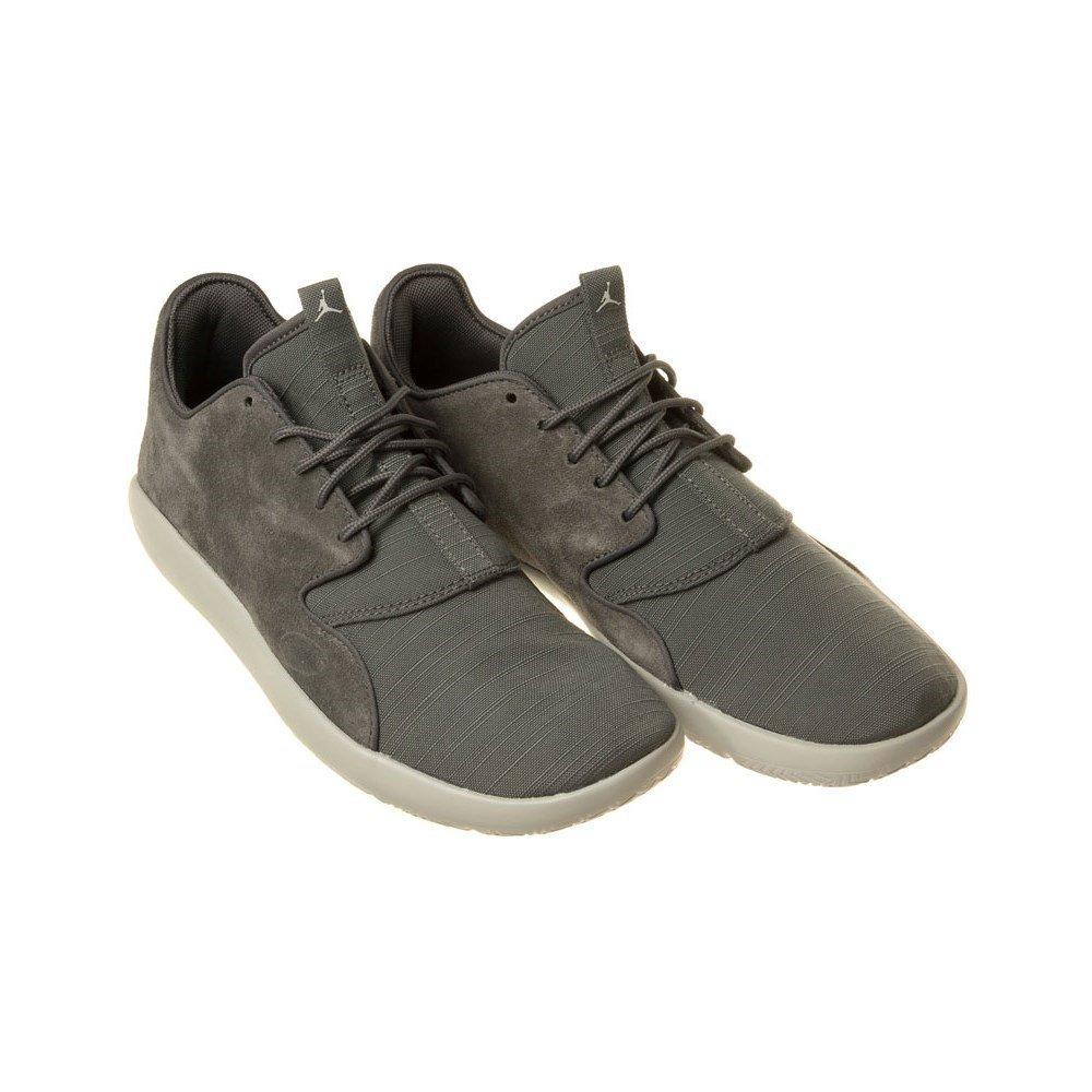 649e205bef6 Amazon.com   Nike 724368-004: Jordan Eclipse Lea Grey Basketball Sneakers    Fashion Sneakers