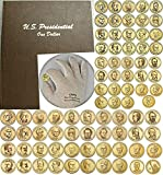 Presidential Coin Set P&D Mint 78 coins 2007 to date with New Dansco Album and BONUS