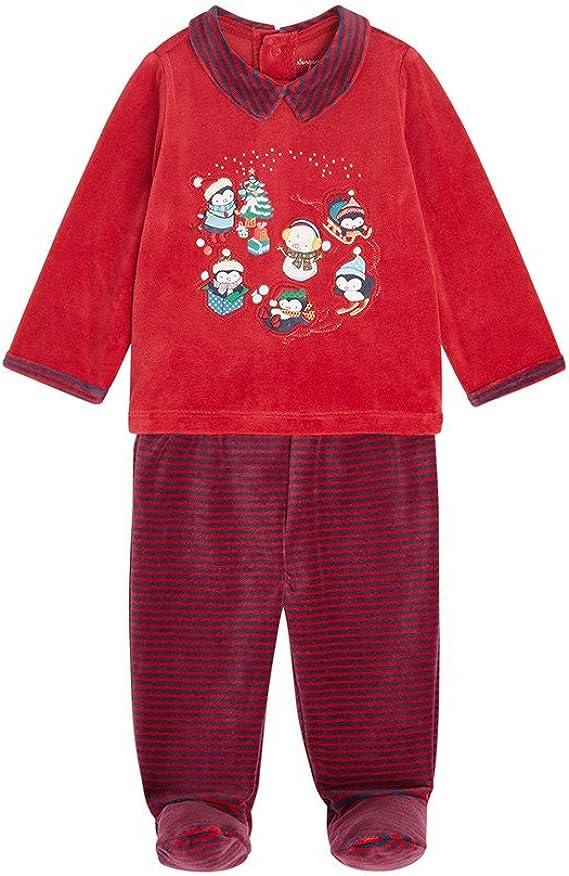Sergent Major - Pijama Entero - para bebé niño Red Inglés 18 ...
