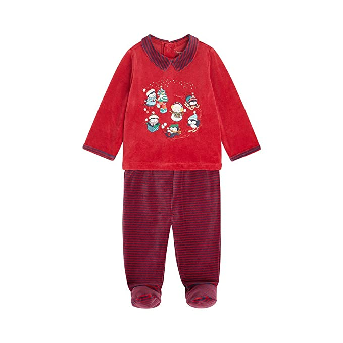 Sergent Major - Pijama Entero - para bebé niño Red Inglés 18 Meses