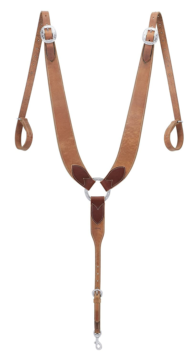 Weaver Leather Pulling Breast Collar, Russet