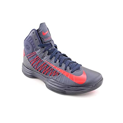 sports shoes 47f55 38319 Amazon.com: Nike Lunar Hyperdunk 2012 - Obsidian / University Red, 10.5 D  US: Shoes