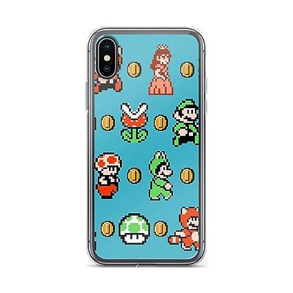Amazoncom Rebecc Super Mario Bros 3 Case Cover Compatible