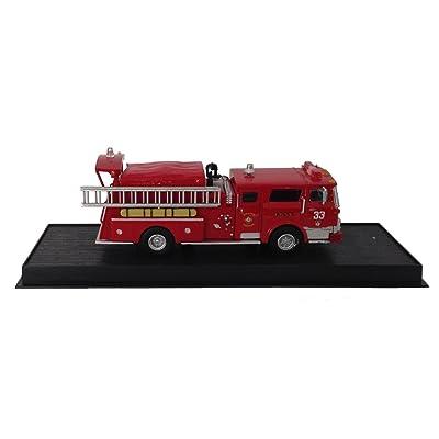 Mack CF Pumper USA Fire Truck Diecast 1:64 Model (Amercom GB-20): Toys & Games