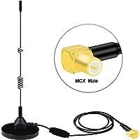 Moli Smart DAB DAB Antenne mit MCX-Anschluss für Windschutzscheibe Kompatibel mit digitalem DAB-Autoradio Audio & Video Zubehör