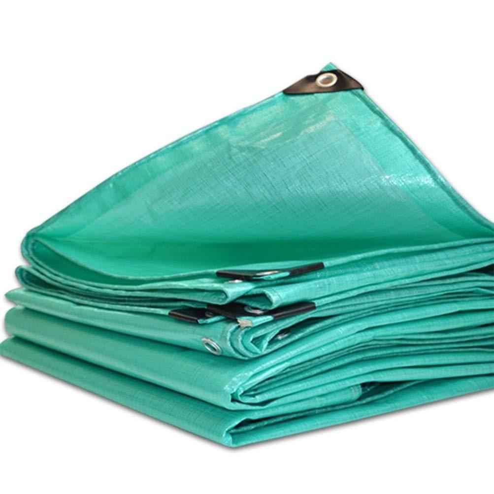 A 3x4m BÂche De Prougeection Imperméable, BÂche épaisse en Plastique Imperméable avec Oeillets en Métal pour Tous Les Abris d'urgence, Abris Extérieurs Et Camping ZHANGQIANG (Couleur   A, Taille   3x4m)