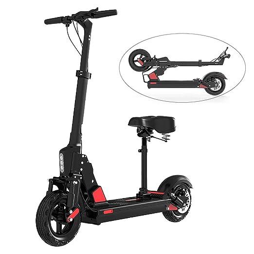 Scooter electrico-Patinete electrico Adulto,Ajustable la ...