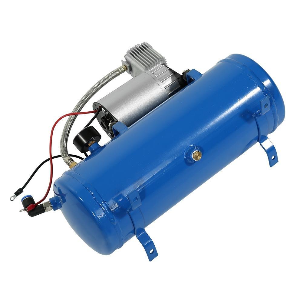 Qiilu Compresor de Aire Port/átil 12V 150 PSI Bomba Inflador de Aire