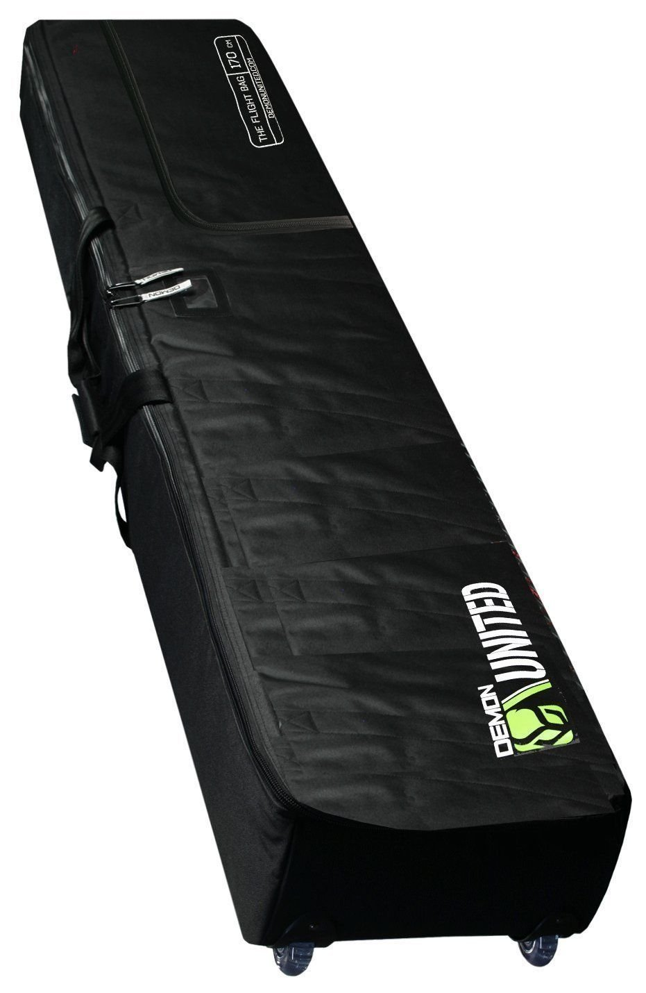 Demon Phantom Fully Padded Travel Snowboard Bag with Wheels by Demon United
