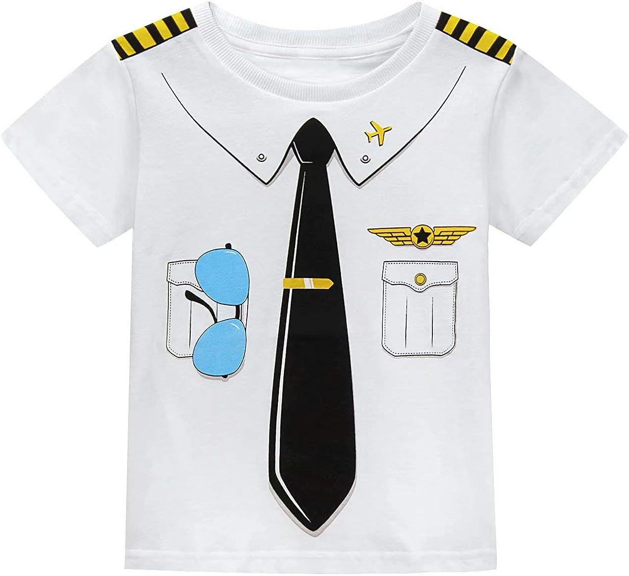 MOMBEBE COSLAND Disfraz para Beb/é Ni/ños Camiseta Estampada Manga Corta