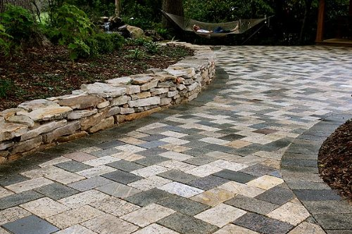Recycled Granite Pavers 6
