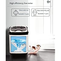 LAZNG Portable Compact Washing Machine Intelligent Automatic Disinfection Washing Machine Has The Effect of Eliminating…