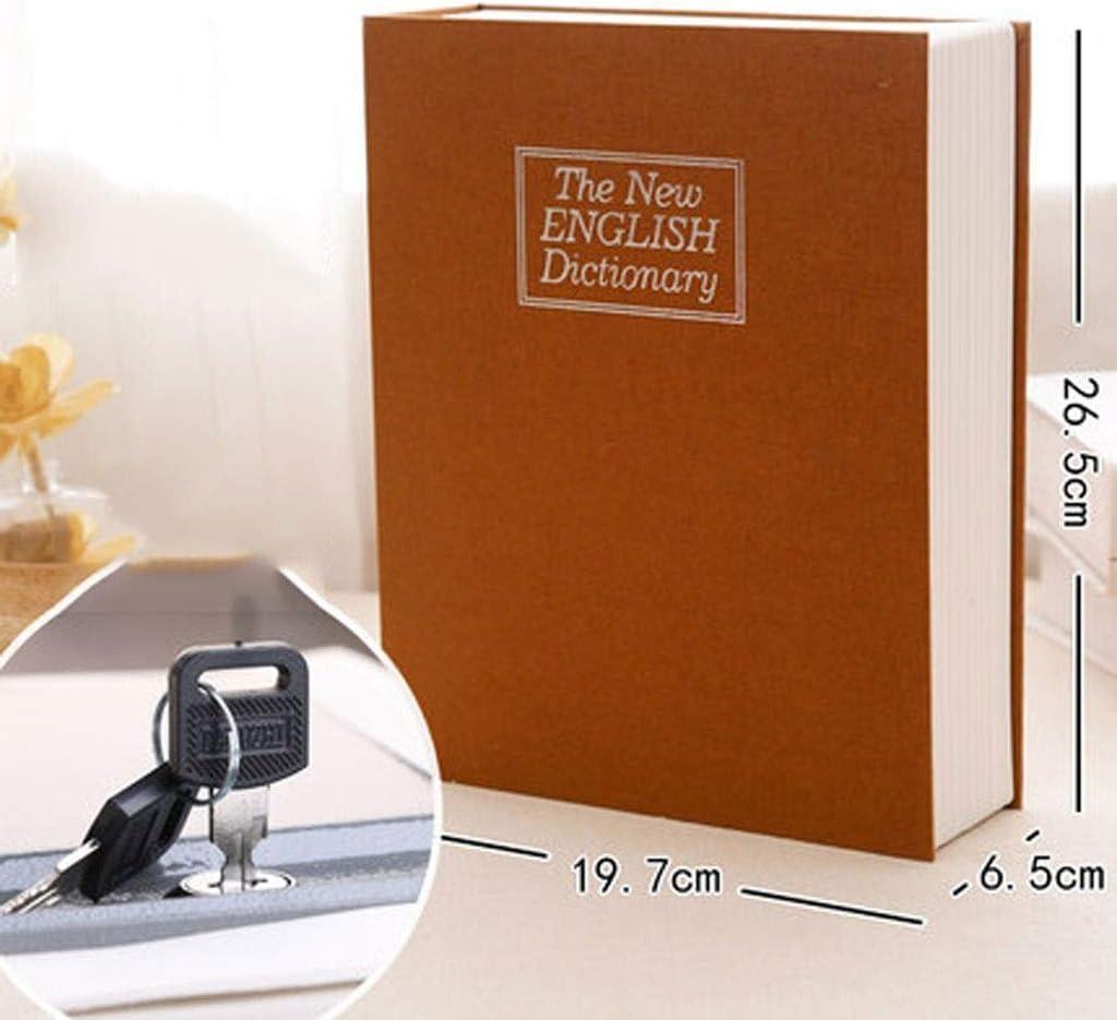 Libro de seguridad xoxo caja fuerte con cerraduras tienen diferentes tamaños.La apariencia y el libro pueden aumentar la ocultación.Hay un compartimento de metal seguro for transportar y ocultar cosas: Amazon.es: Electrónica