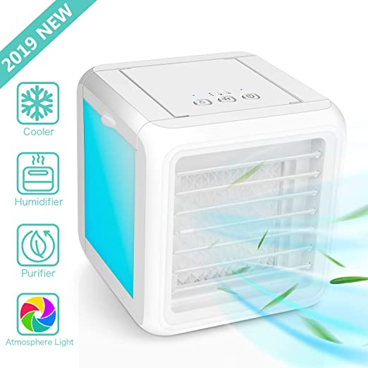 3 in 1 Air Conditioner Cooler Summer Space Cooling Artic Fan Humidifier Portable