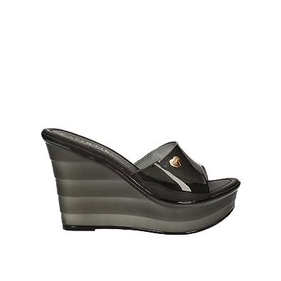 E Cafenoir 39Amazon He008 Sandalo Nero Donna itScarpe Borse 3Aq4RcLj5S