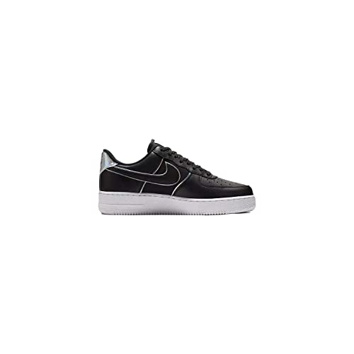 best sneakers 93a31 c72c5 Nike Mens Air Force 1 LV8 BlackBlackBlack Leather Casual Shoes 8 M