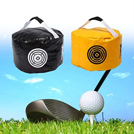 Dilwe Golf Training Bag, Swing Impact Power Smash for Golf Practice Fitness Indoor Outdoor