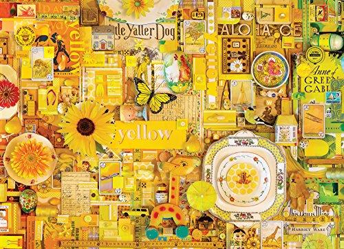 Cobblehill 80148 1000 Pc Yellow Puzzle Vari