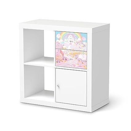 Niños-habitaciones crea para cajones estantería IKEA kallax | Papel ...