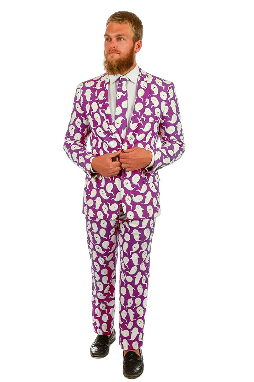 Amazon.com: Shinesty The Spermy Ghosts Halloween Suit (Jacket ...