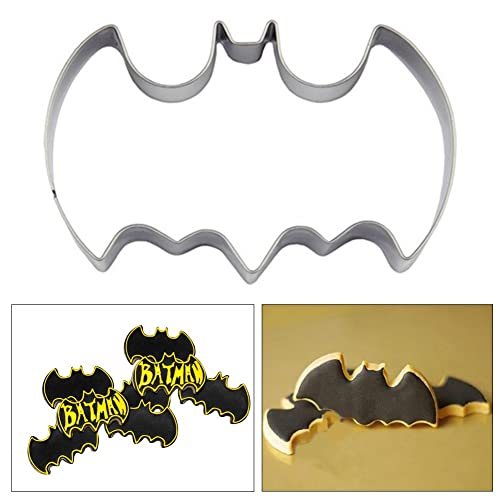 Batman Cake Cookie Cutter Mold Vampire Pastry Baking Biscuit Stainless Steel Moulds
