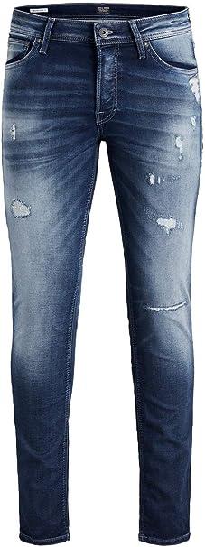 Jack & Jones Pantalones Vaqueros Delgados para Hombre