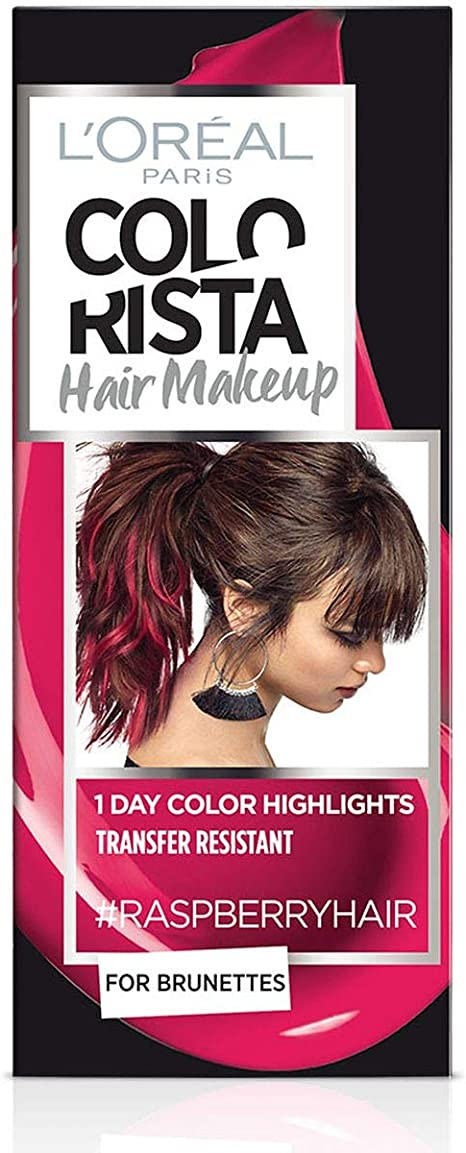 LOréal Paris Colorista Hair Makeup Raspberry Hair: Amazon.es ...