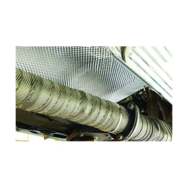 Design Engineering 050503 Floor /& Tunnel Shield II 42 x 48 Heat and Sound Insulation 14 sq. ft.