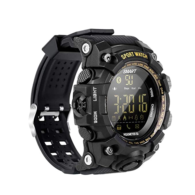 Amazon.com: Kanzd EX16S Multifunction Waterproof Smart Watch ...