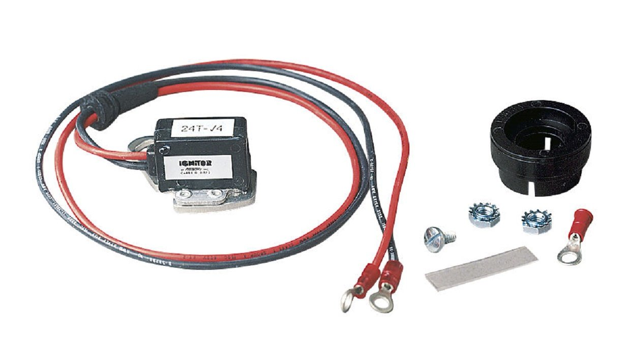 PerTronix Ignitor+Coil 1957-68 Ford V8 289 302 352 390 427 428 w//Motorcraft Single Points Distributor Ignitor /& Coil