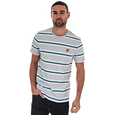 Lyle & Scott Multi Stripe T-Shirt Camiseta para Hombre: Amazon.es ...