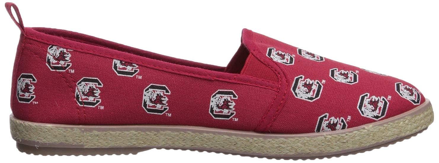 FOCO NCAA Womens Espadrille Canvas Shoe