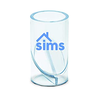 Sims Anti Choking Hazard Device for Kids, Home Safety Prevention and Protection Tube for Toys, Snacks or Small Objects, Portable Handheld Anti-Choke Item Tester