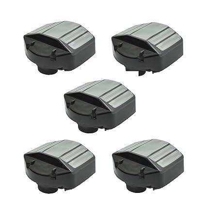 Amazon.com: Euros - Pack de 5 filtros de aire de repuesto ...