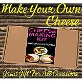 Cheese Making KIT =Mozzarella & Ricotta=Great Gift=Make Your Own Italian Cheese