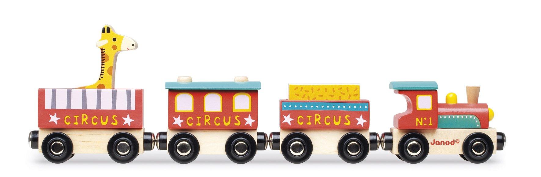 Janod Story Train Circus